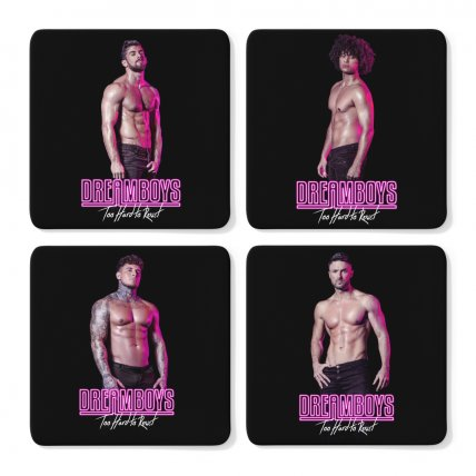 Set of 4 Dreamboys Coasters